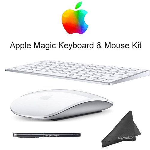 Apple Magic Keyboard & Mouse Kit with eDig Stylus Pen