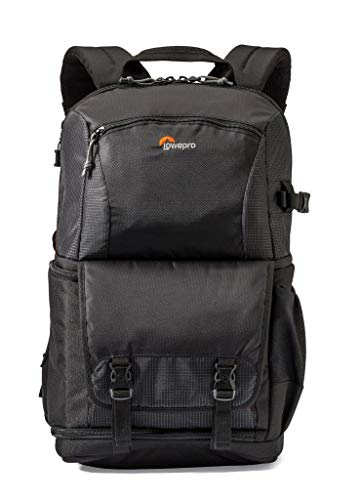 """Lowepro Fastpack - A Travel-Ready Backpack for DSLR and 15"""" Laptop and Tablet"""