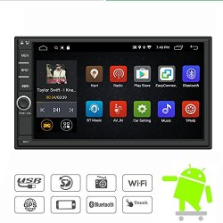 Yody Android 7.1 Double Din Car Stereo Radio 7 Inch