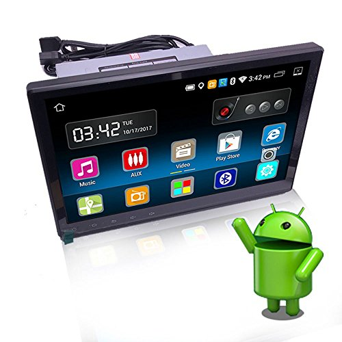 Car Stereo with Bluetooth WiFi GPS Navigation Mirror Link