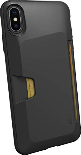 Silk iPhone XS Max Wallet Case - Wallet Slayer Vol. 1 [Slim Protective Vault Grip Credit Card Cover] - Black Tie Affair