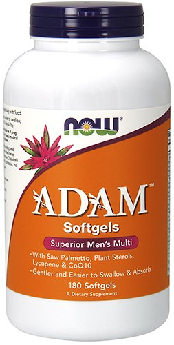 NOW Foods Adam Men's Multiple Vitamin - 180 Softgels