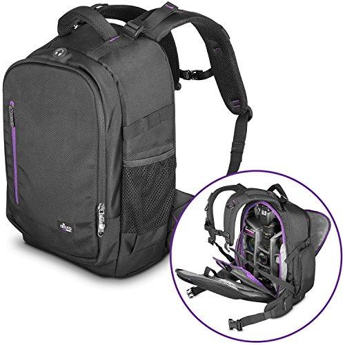 DSLR Camera Backpack Bag by Altura Photo for Camera, Lenses, Laptop
