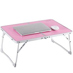 Laptop Table for Bed, Superjare Portable Outdoor Camping Table