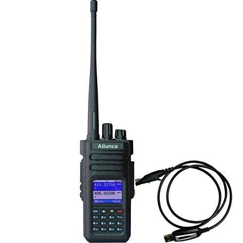 Ailunce HD1 GPS Digital 2 Way Radio Dual Band Dual Time