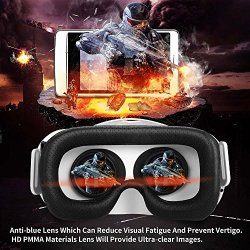 23233ff7144 HomeElectronics and Computers Canbor VR Headset with Remote Controller