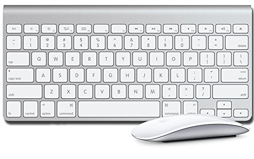 Apple Wireless Keyboard w/ Magic Mouse