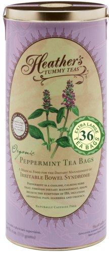Heather's Tummy Teas Organic Peppermint Tea Bags