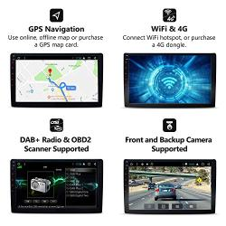 Eonon Car Radio Stereo Audio Universal Double Din, 10 1