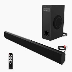 Soundbar with Subwoofer meidong TV Sound Bar with Sub Wired and Wireless Bluetooth Audio Home Theater System for TVs