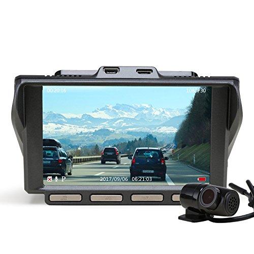 Z-EDGE S4 Dual Dash Cam, 4.0 Inch IPS Ultra HD