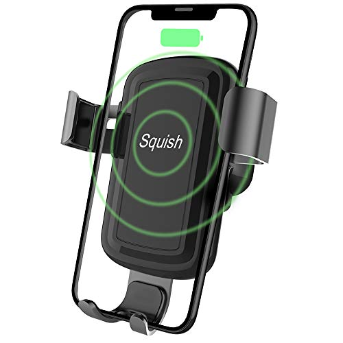 Squish Wireless Charger Car Phone Mount Air Vent Phone