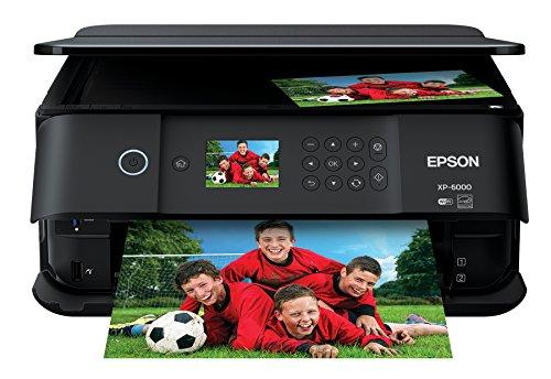 Epson Expression Premium XP-6000 Wireless Color Photo Printer with Scanner & Copier, Amazon Dash Replenishment Enabled