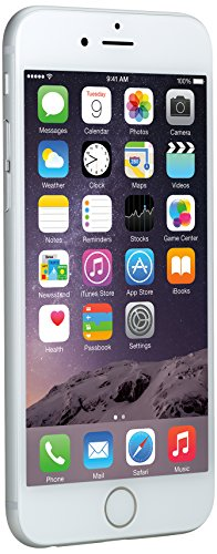 Apple iPhone 6, Silver, 16 GB (AT&T)