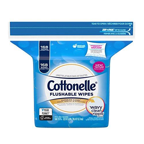Cottonelle FreshCare Flushable Cleansing Cloths Refill
