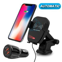 Detuosi Automatic Infrared Car Wireless Charger