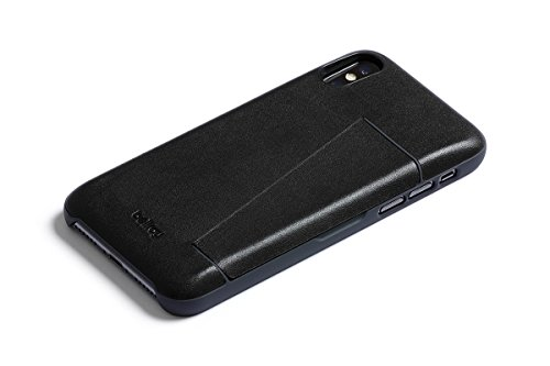 Bellroy Leather iPhone X Phone Case - 3 Card Black