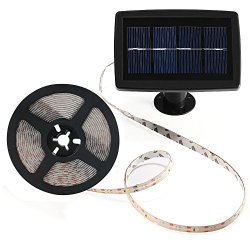 Solar Strip Lights, BESWILL 16.4 feet LED Flexible