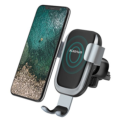Steanum QI Gravity Car Mount Air Vent Phone Holder