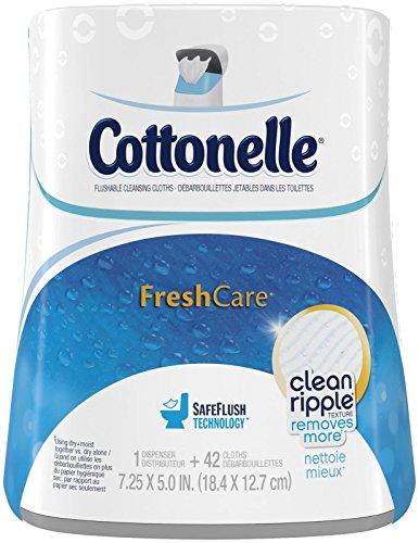 Cottonelle Fresh Care Moist Wipes Upright Dispenser