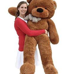 "Joyfay 63"" 160cm Dark Brown Giant Teddy Bear"