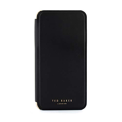 Ted Baker Fashion Scratch Resistant Mirror Folio Case for iPhone Xs Max