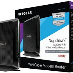 NETGEAR Nighthawk DOCSIS 3.0 WiFi Cable Modem Router
