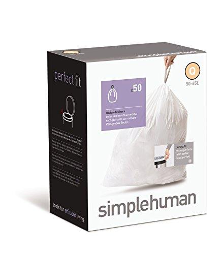 simplehuman Custom Fit Trash Can Liner J