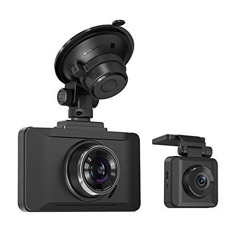 TaoTronics Dual Dash Cam with Sony IMX323 Sensor