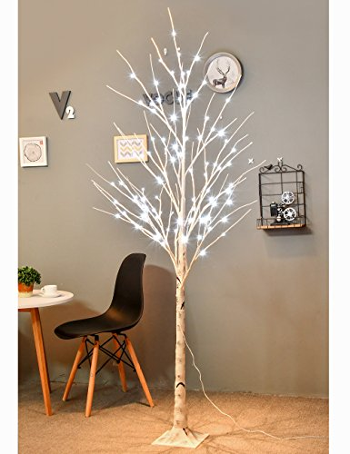 Bolylight LED Birch Tree 6ft 96L LED Christmas Decorations