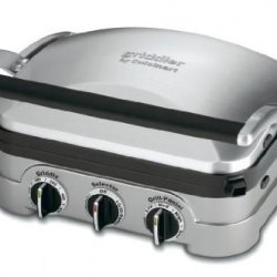 Cuisinart 5 In 1 Griddler with Panini Press, Full Grill