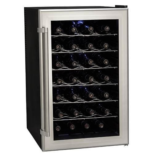 Koldfront Bottle Ultra Capacity Thermoelectric Wine Cooler - Platinum