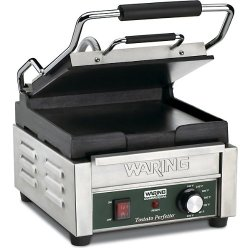 Waring Commercial Compact Italian-Style Panini Grill, 120-volt