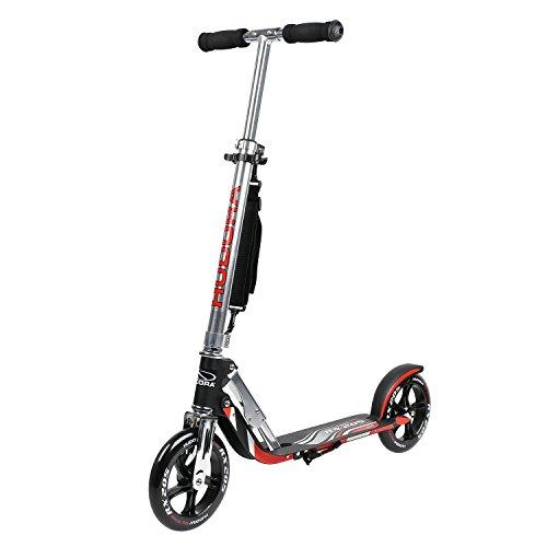 HUDORA Kick Scooter Adult Kids Big PU Wheels