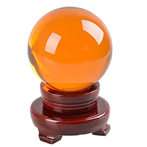 LONGWIN 200mm(8 inch) Large Crystal Ball Decorative Balls