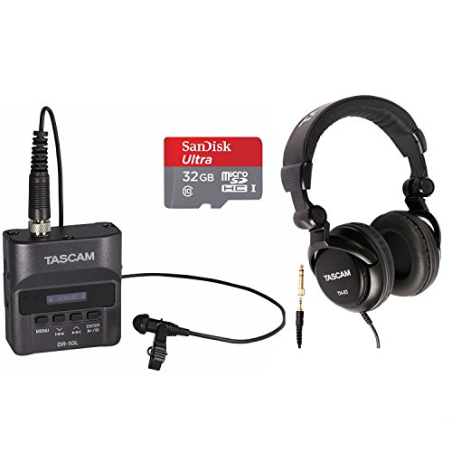 Tascam Digital Recorder with Tascam Headphones