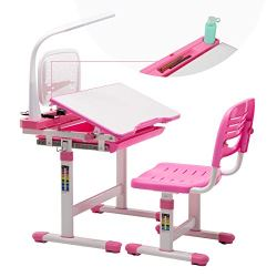 Mecor Kids Desk and Chair Set, Children's Sturdy Table