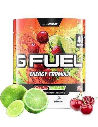 G Fuel Cherry Limeade Tub (40 Servings) Elite Energy