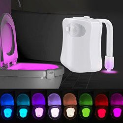 ihomy Toilet Night Light, Motion Activated Toilet Night Light