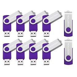 KOOTION 10PCS 1GB USB 2.0 Flash Drives