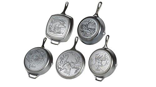 Lodge Wildlife Series - Seasoned Cast Iron Cookware
