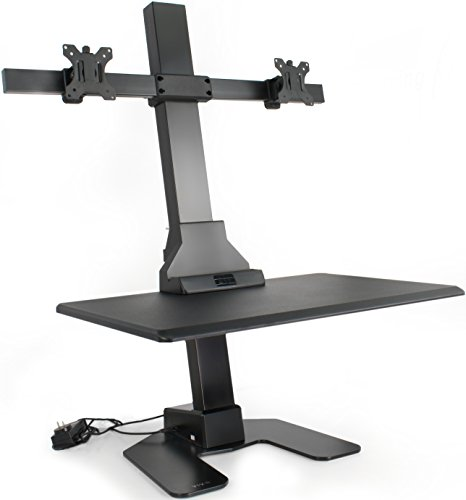 VIVO Black Electric Powered Height Adjustable