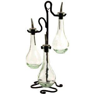 Chic Olive Oil & Vinegar Kitchen Dispenser Decorative Bottle