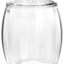 Prodyne Contours 3-1/2-Quart Ice Bucket, Clear