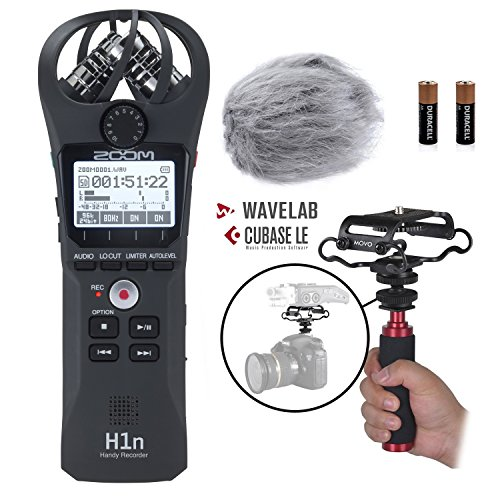Zoom H1n Handy Portable Digital Recorder Kit