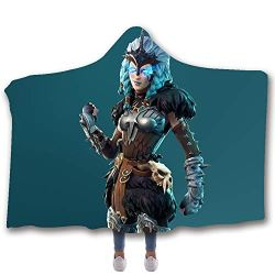 Allan J Beasle Super Soft Hooded Blanket, Valkyrie fortnite