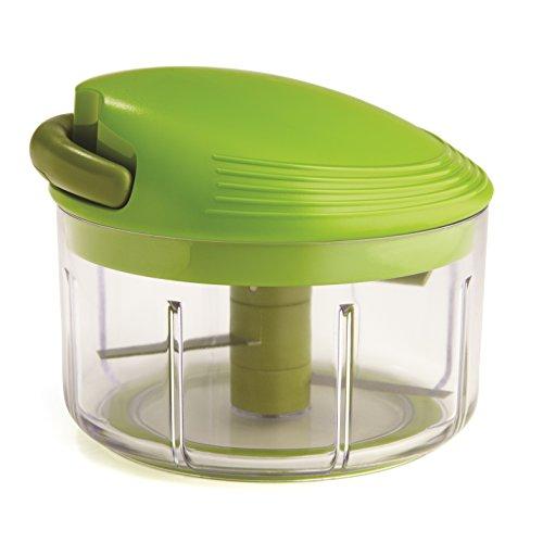 Kuhn Rikon Swiss Pull Chop, 4-Inch, Green