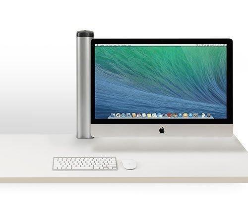 Bretford Mobile Desk Mount for LCD Display Silver