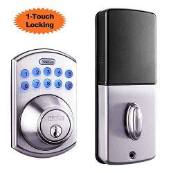 Electronic Deadbolt Door Lock, Keypad Deadbolt Lock