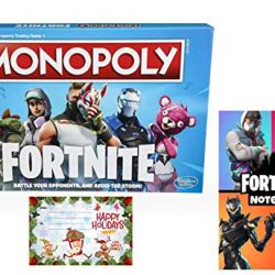 Monopoly: Fortnite Edition Board Game Inspired by Fortnite